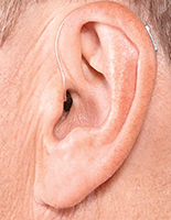 hearing aid receiver in ear canal available at UK Hearing centres
