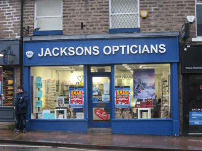 glossop hearing centre in jacksons opticians
