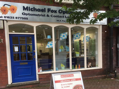 michael fox opticians uk hearing centres in poynton